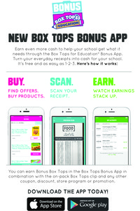 Box Tops Bonus Apps