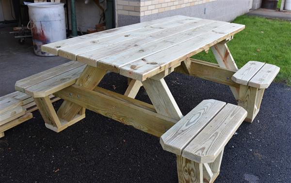 For Sale: Tables and Cornhole Boards