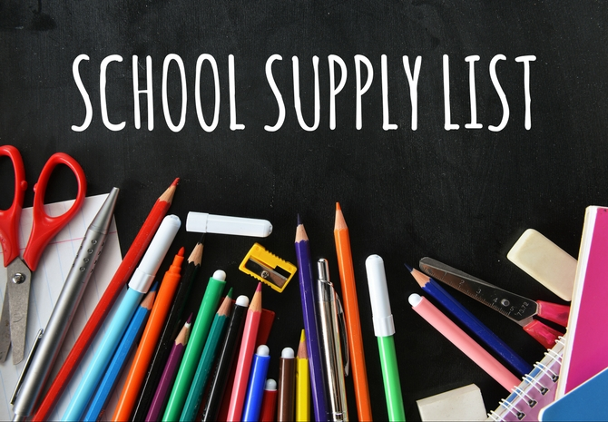Elementary/MHS Supply Lists